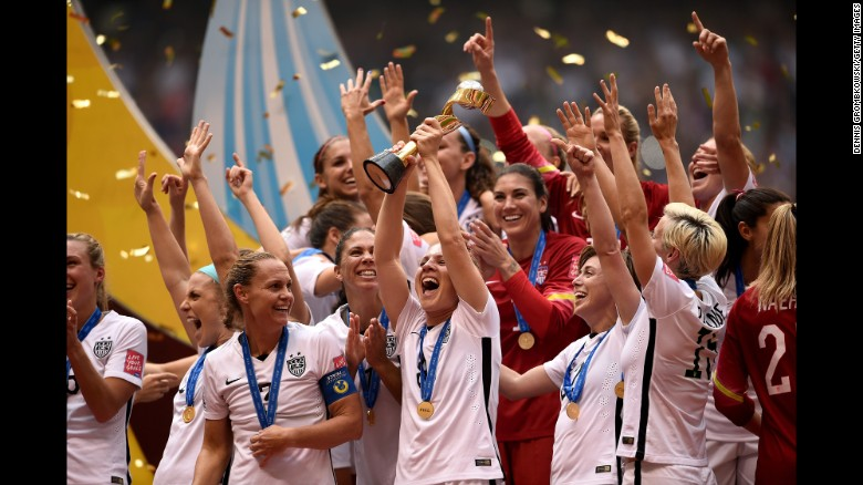150705-USA Women's World Cup Celebration, Win Over Japan 5-2