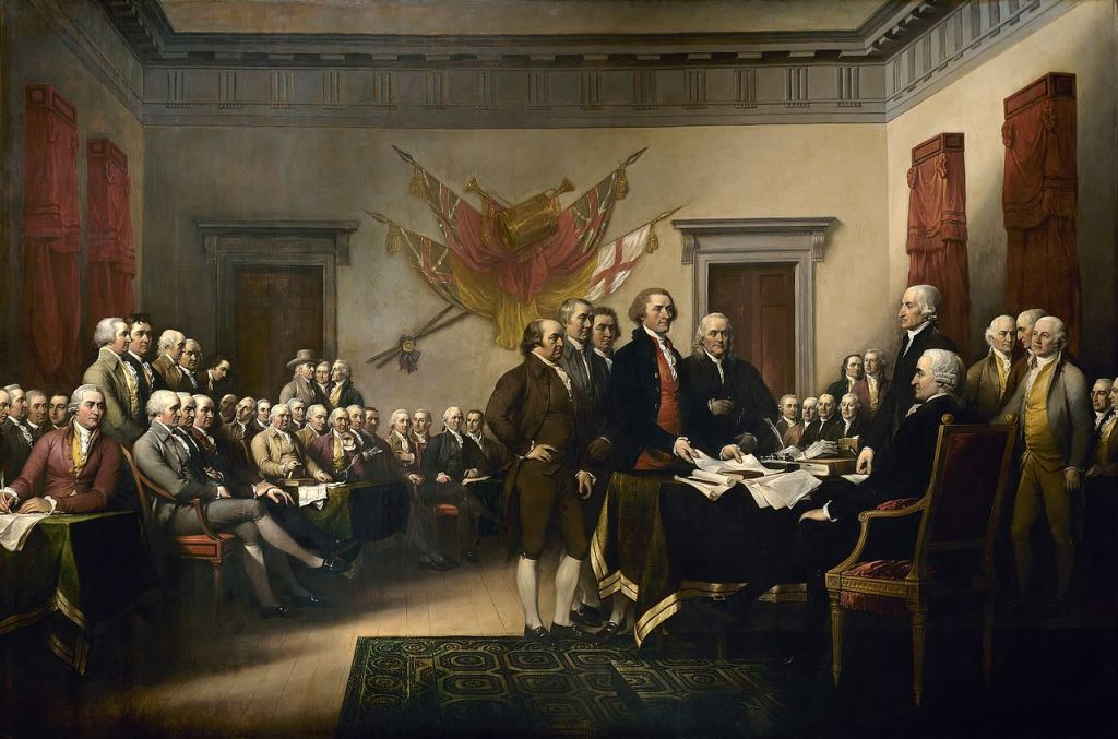 Signers of the Declararation of Independence