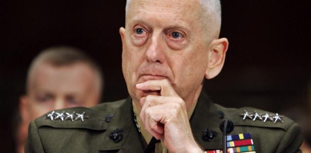 Marine Gen James Mattis