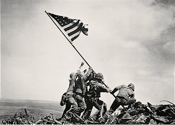 *Flag Raising on Iwo Jima, 23Feb45 Cropped
