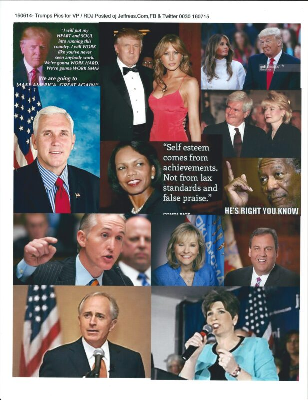160714-Trump Pics : RDJ Posted On Web Site