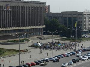 Demonstration @ Rada