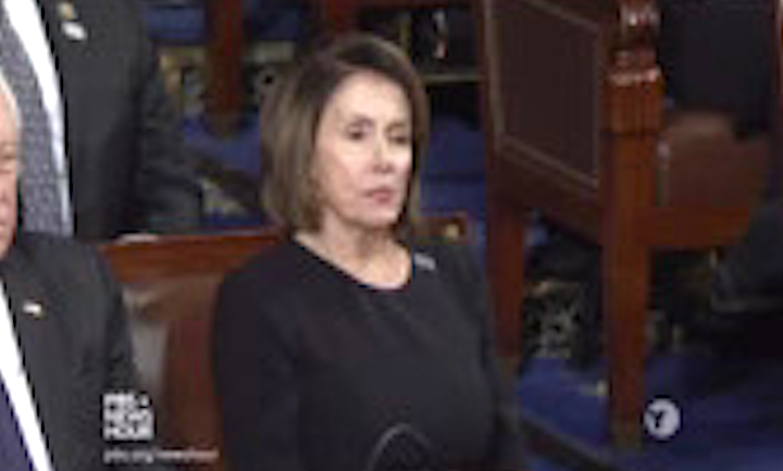 Nancy Pelosi Druing SOTU Address