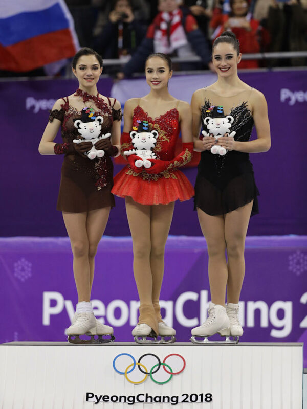 180223- Women's Olympic Figure Skating Winners
